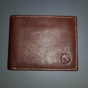 Timberland thin leather Passcase Wallet